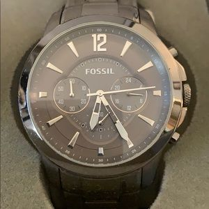Fossil chronograph men's watch